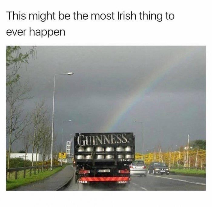 guinness rainbow